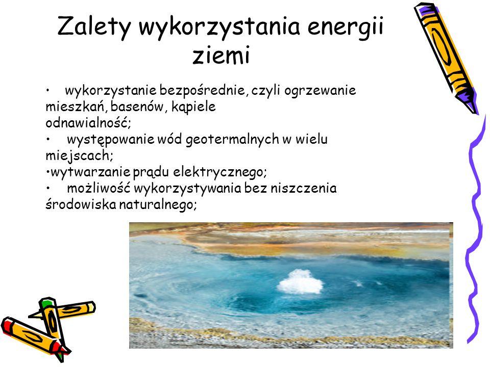 Zalety wykorzystania energii ziemi