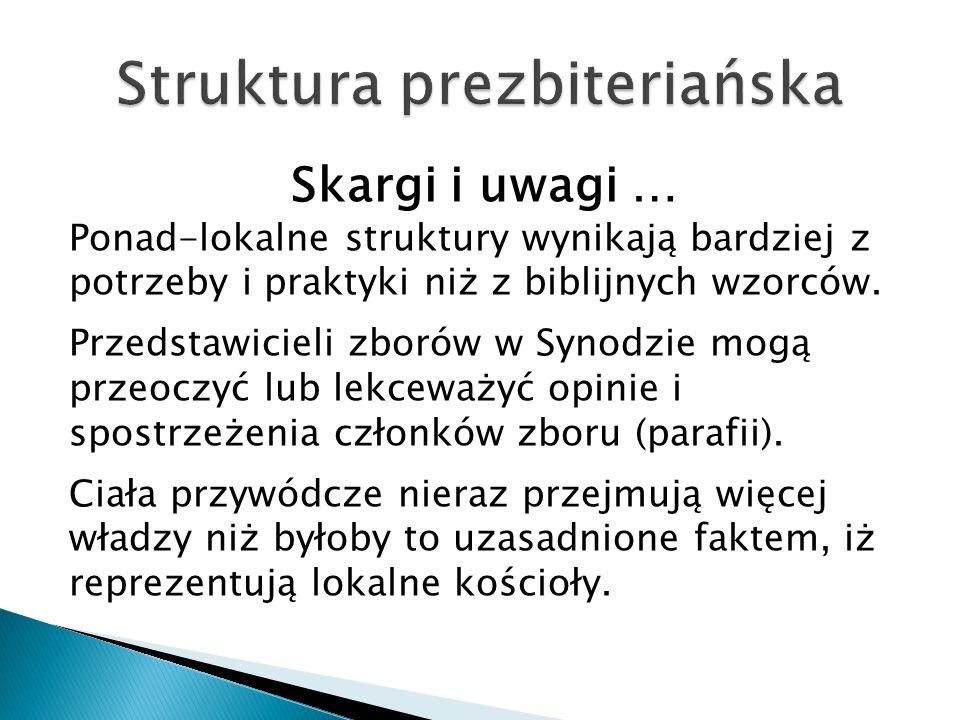 Struktura prezbiteriańska