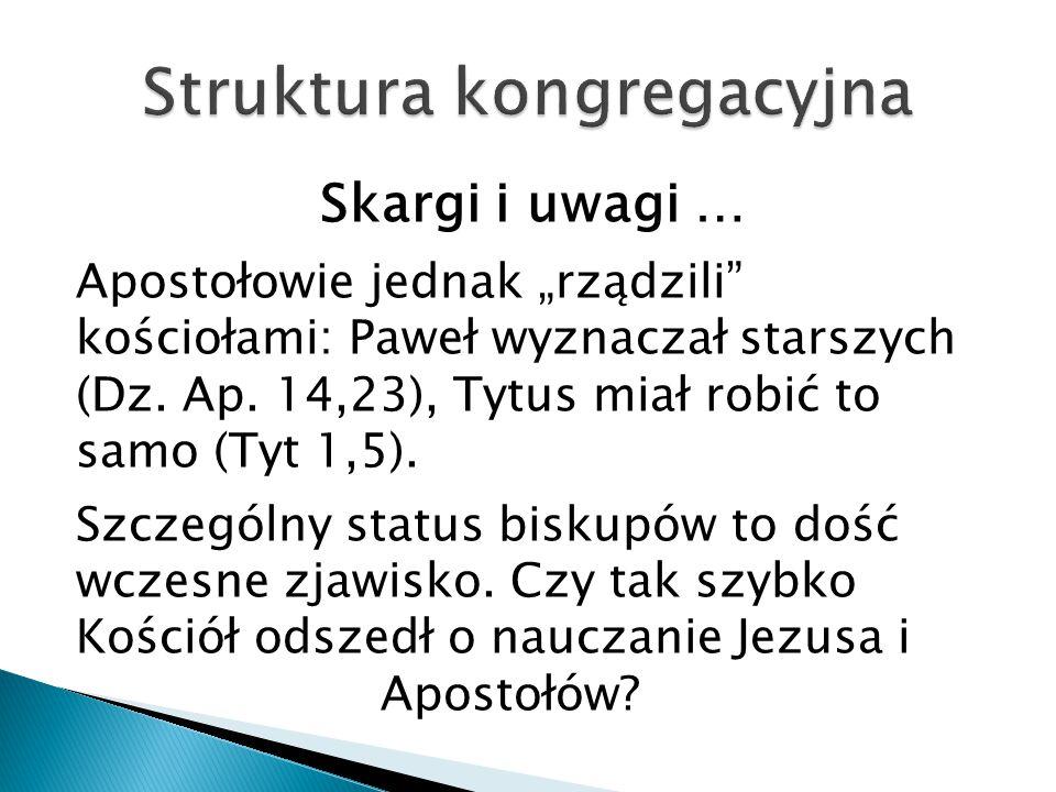 Struktura kongregacyjna