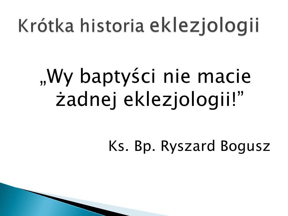 Krótka historia eklezjologii