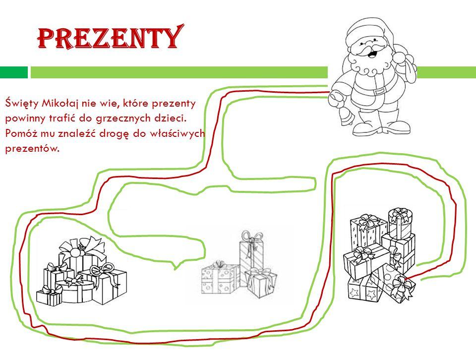 PREZENTY Święty Mikołaj nie wie, które prezenty powinny trafić do grzecznych dzieci.