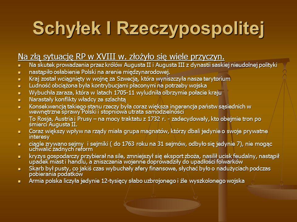 Schyłek I Rzeczypospolitej