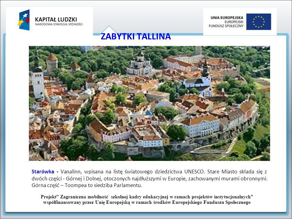 ZABYTKI TALLINA