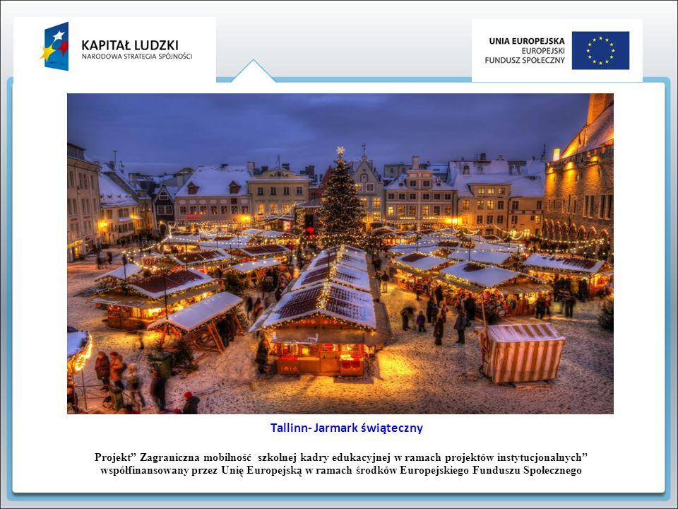 Tallinn- Jarmark świąteczny