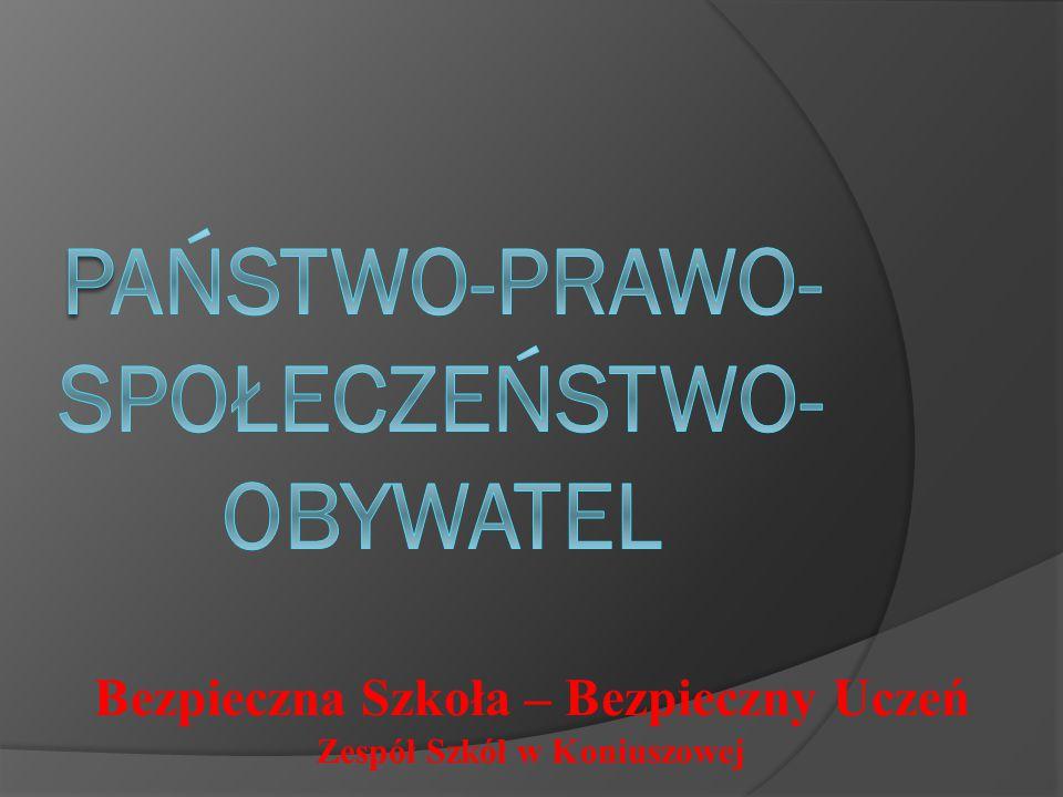 PAŃSTWO-PRAWO-SPOŁECZEŃSTWO-OBYWATEL