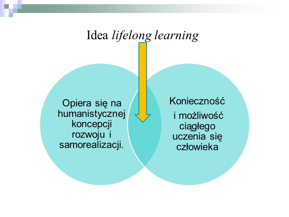 Idea lifelong learning