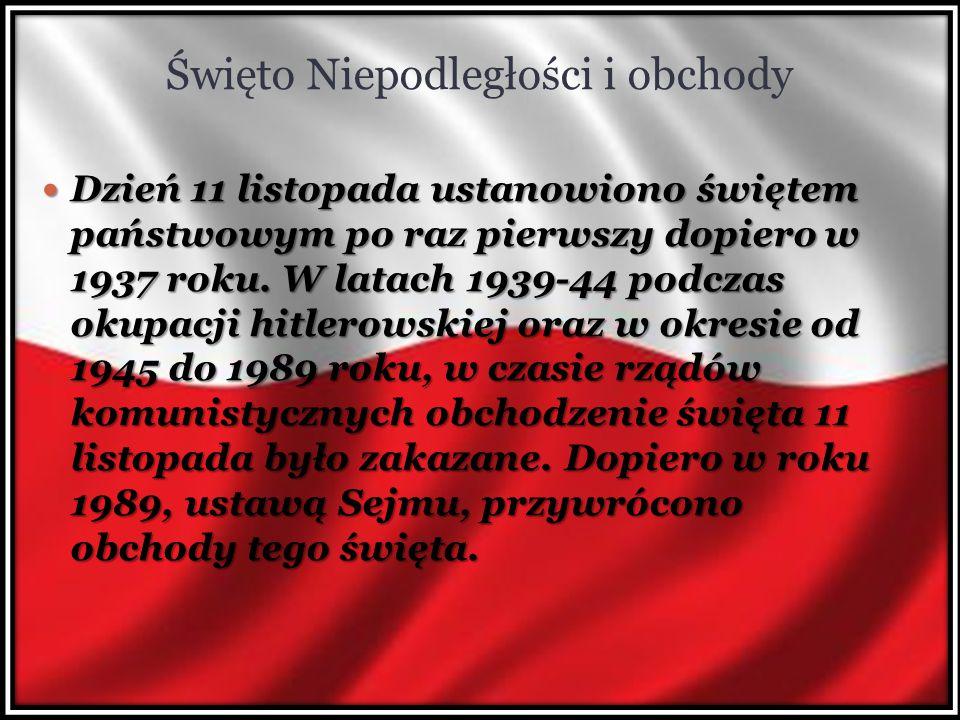 Święto Niepodległości i obchody