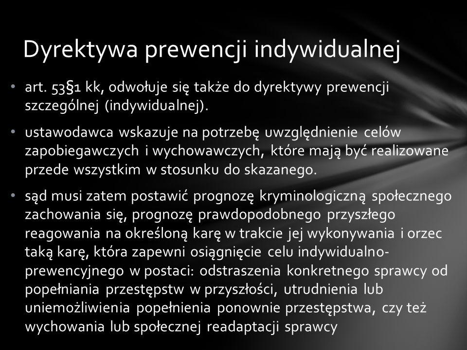 Dyrektywa prewencji indywidualnej