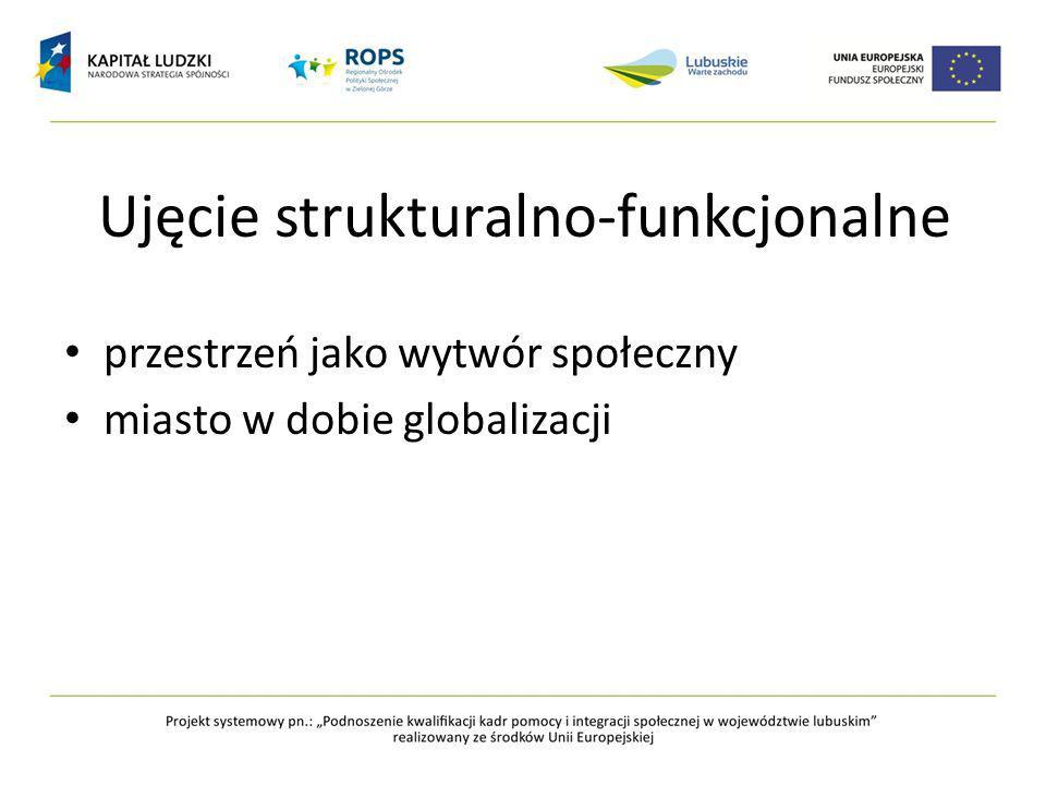 Ujęcie strukturalno-funkcjonalne