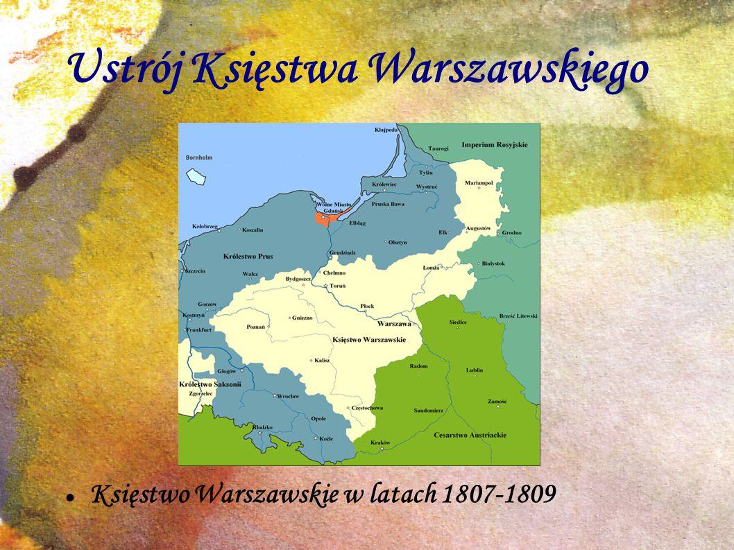 Ustrój Księstwa Warszawskiego