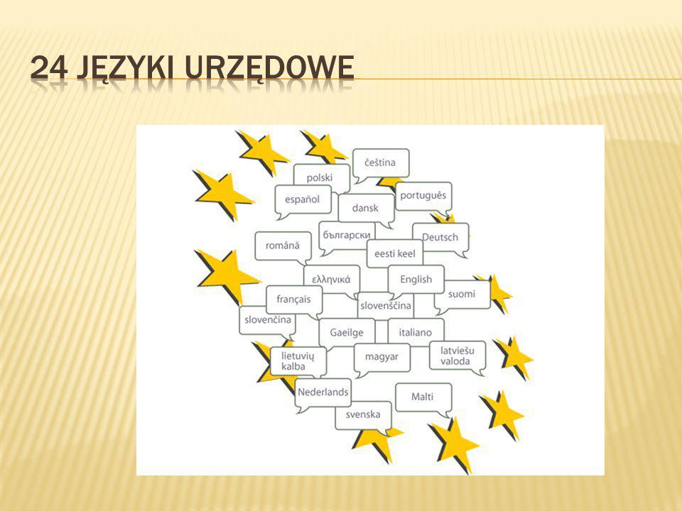 24 języki urzędowe