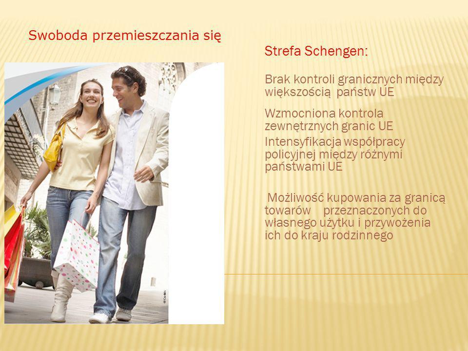 Strefa Schengen: Swoboda przemieszczania się
