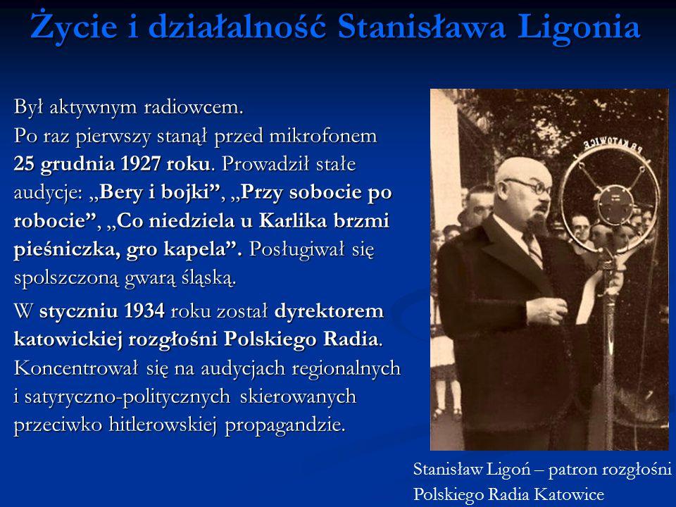 Życie i działalność Stanisława Ligonia