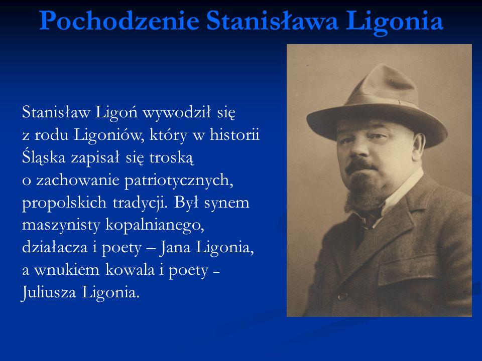 Pochodzenie Stanisława Ligonia