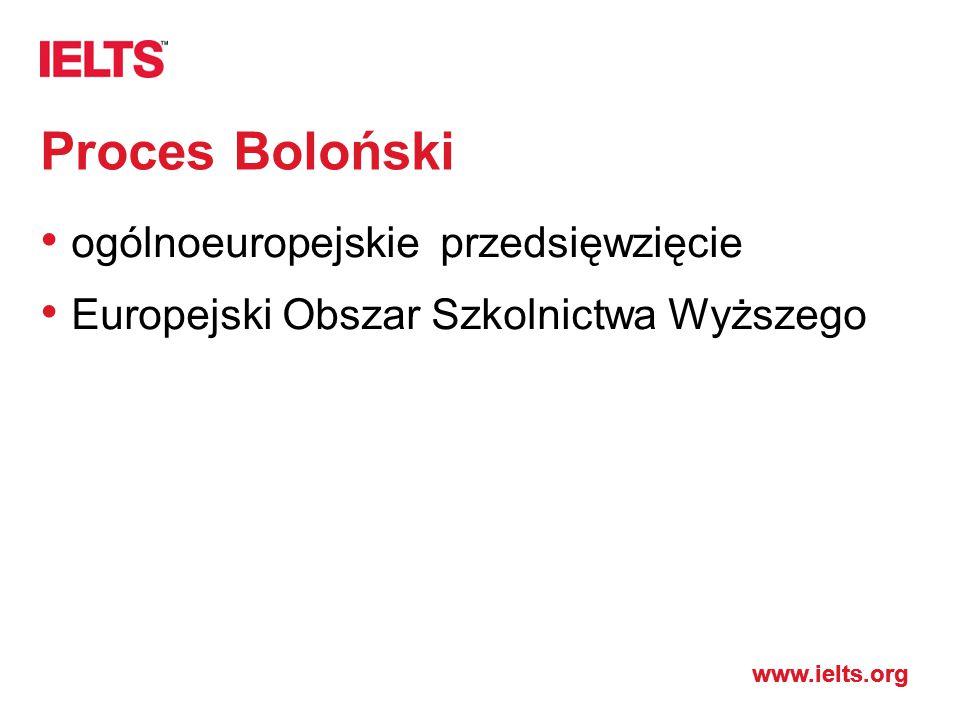 Proces Boloński ogólnoeuropejskie przedsięwzięcie