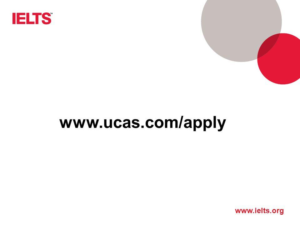 www.ucas.com/apply Adres strony UCAS: ucas.com Zakładka Apply Ważne: