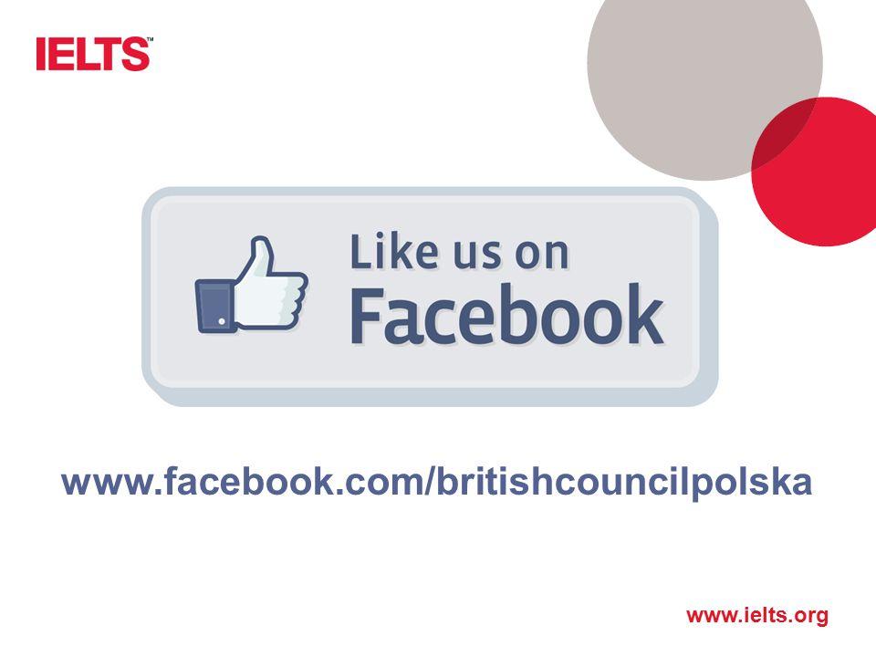 Jesteśmy na Facebooku www.facebook.com/britishcouncilpolska
