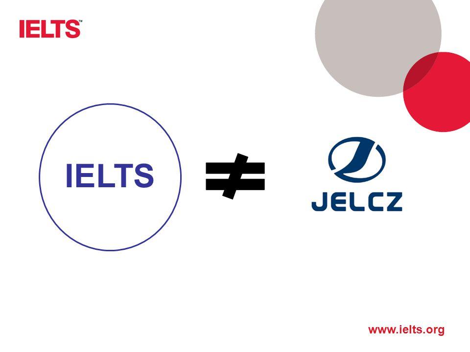 IELTS IELTS (przynajmniej w wymowie) nie ma nic wspólnego z nazwą polskiej marki motoryzacyjnej. 8