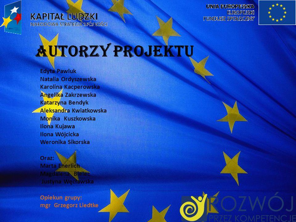 AUTORZY PROJEKTU Edyta Pawluk Natalia Ordyszewska Karolina Kacperowska
