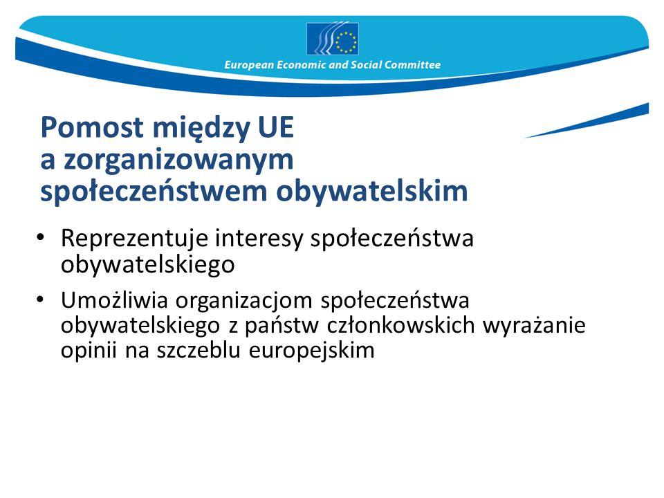 Pomost między UE a zorganizowanym społeczeństwem obywatelskim