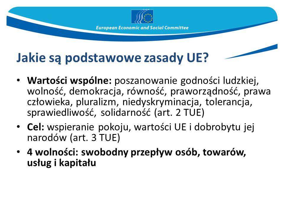 Jakie są podstawowe zasady UE