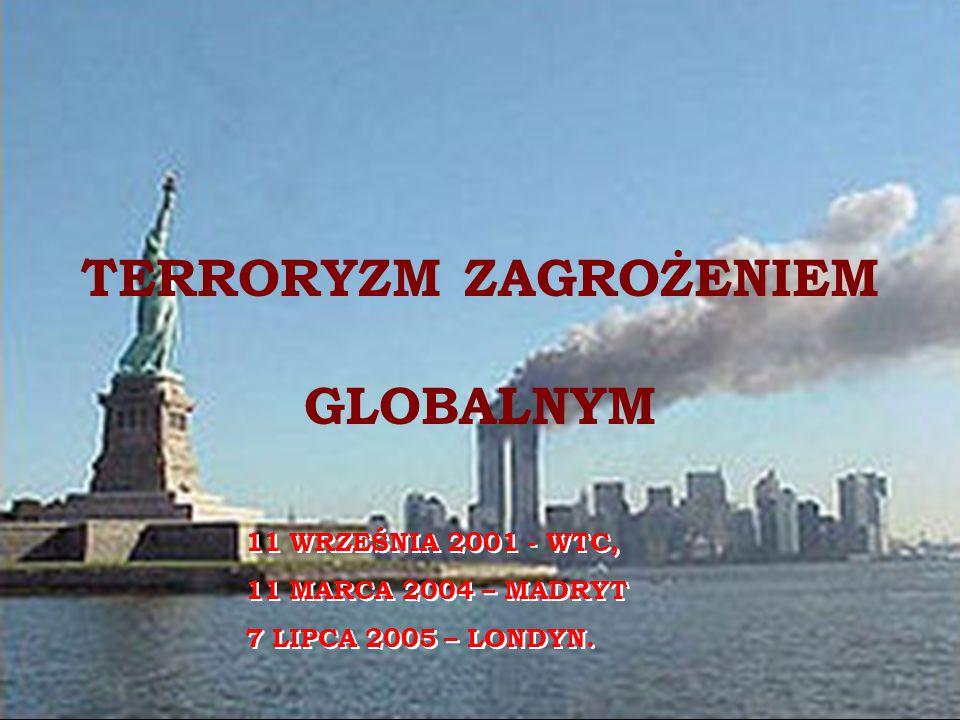 TERRORYZM ZAGROŻENIEM GLOBALNYM
