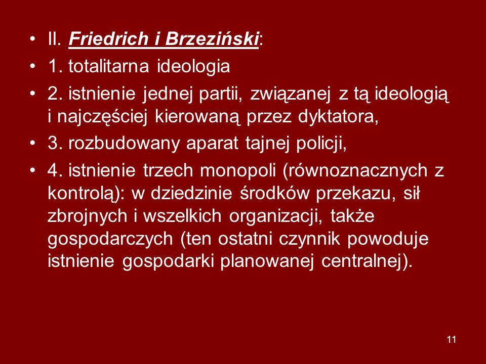 II. Friedrich i Brzeziński: