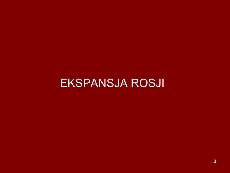 EKSPANSJA ROSJI