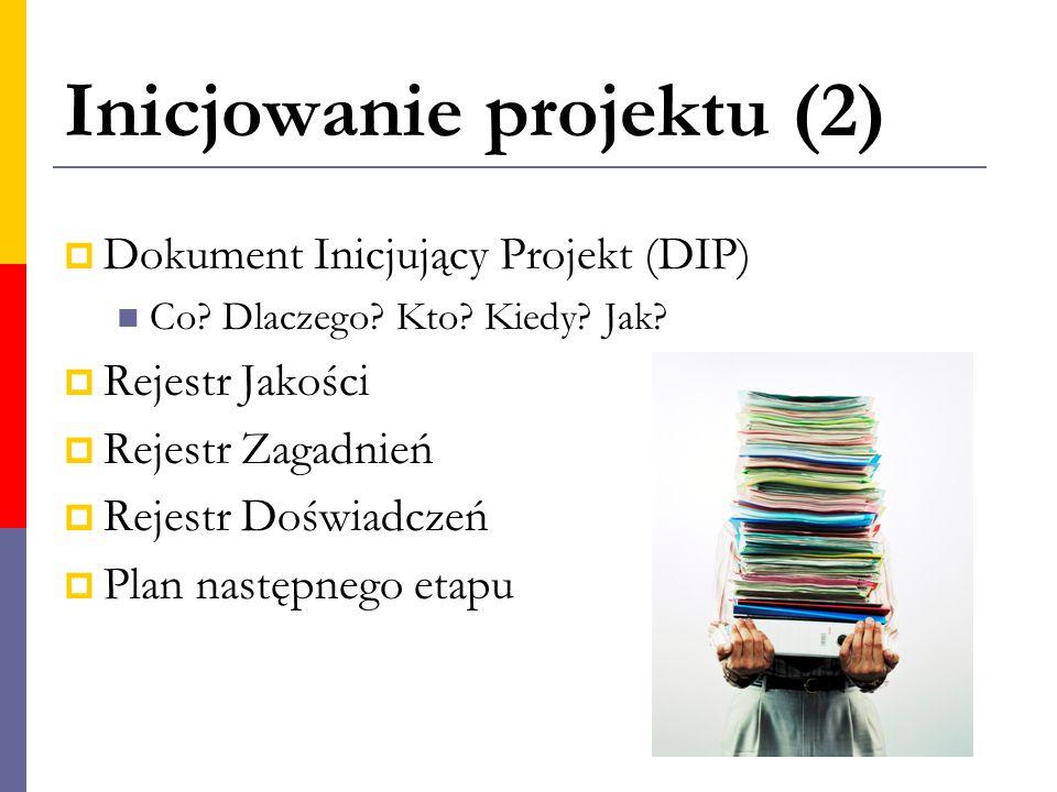 Inicjowanie projektu (2)