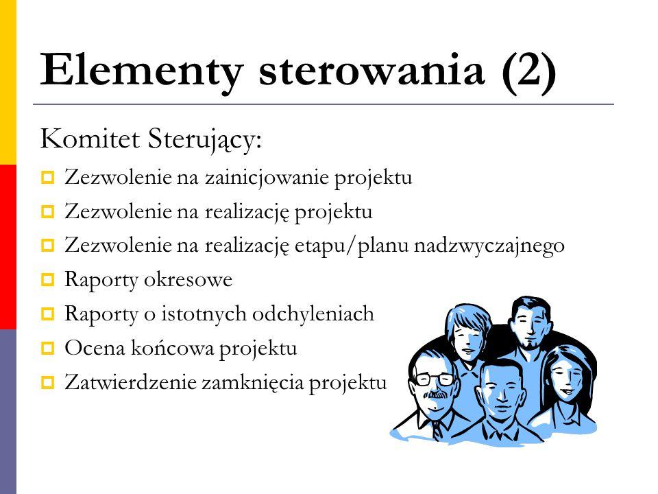 Elementy sterowania (2)