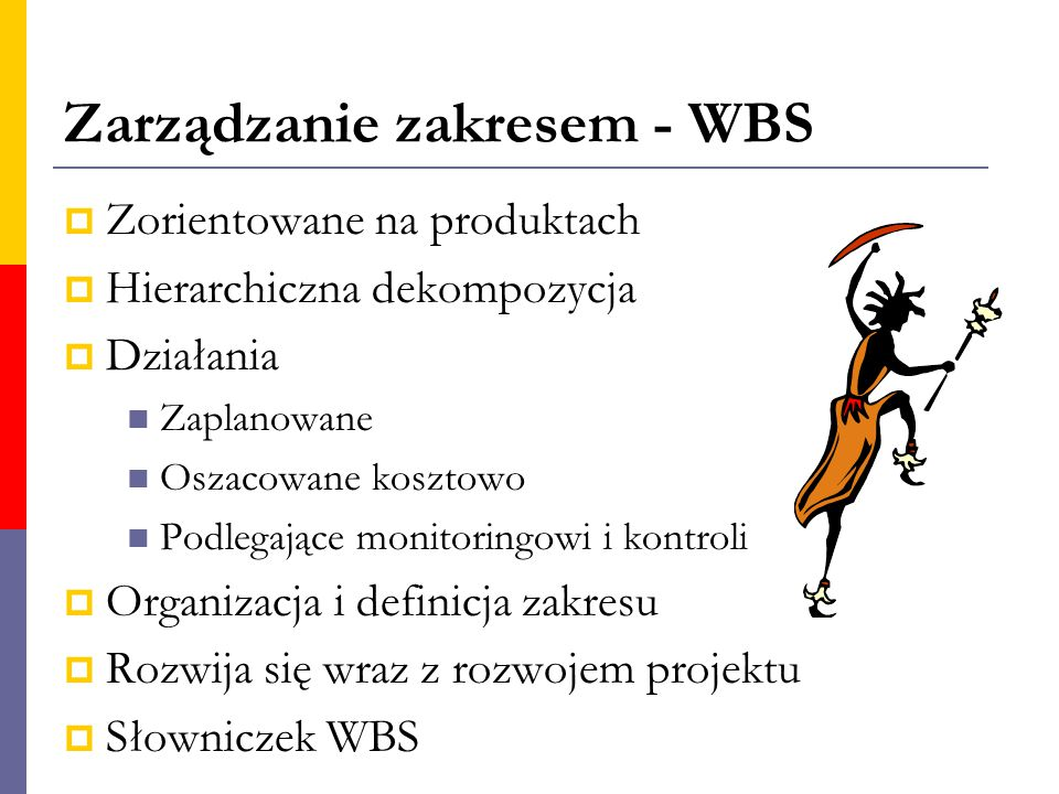 Zarządzanie zakresem - WBS