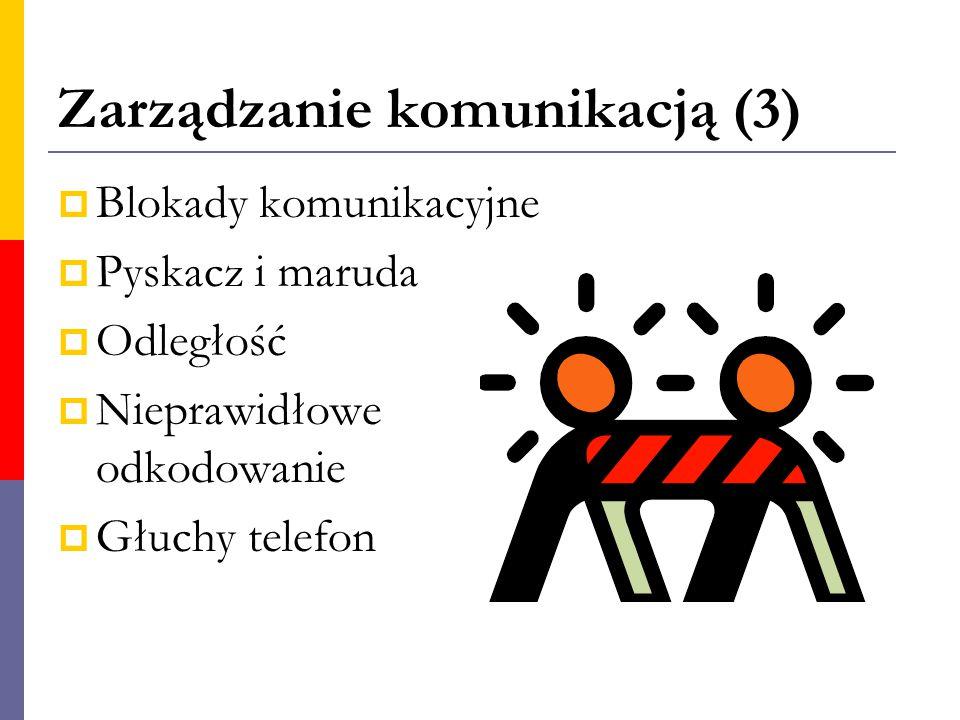 Zarządzanie komunikacją (3)