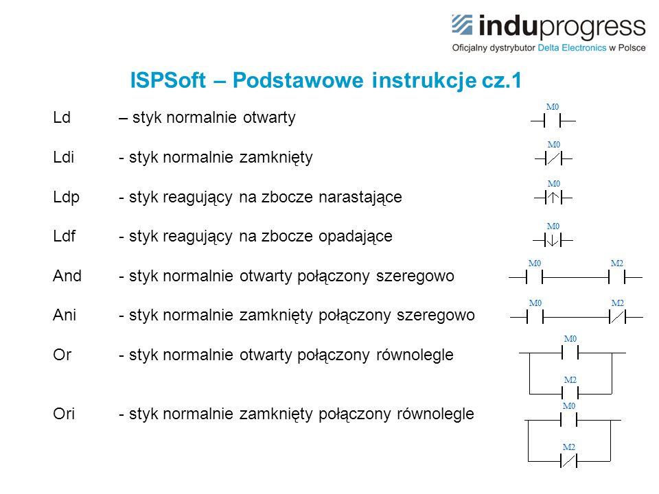 ISPSoft – Podstawowe instrukcje cz.1