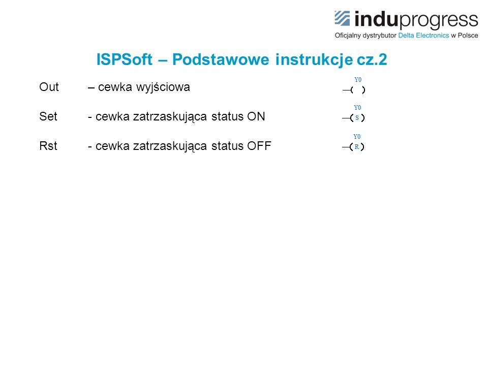 ISPSoft – Podstawowe instrukcje cz.2
