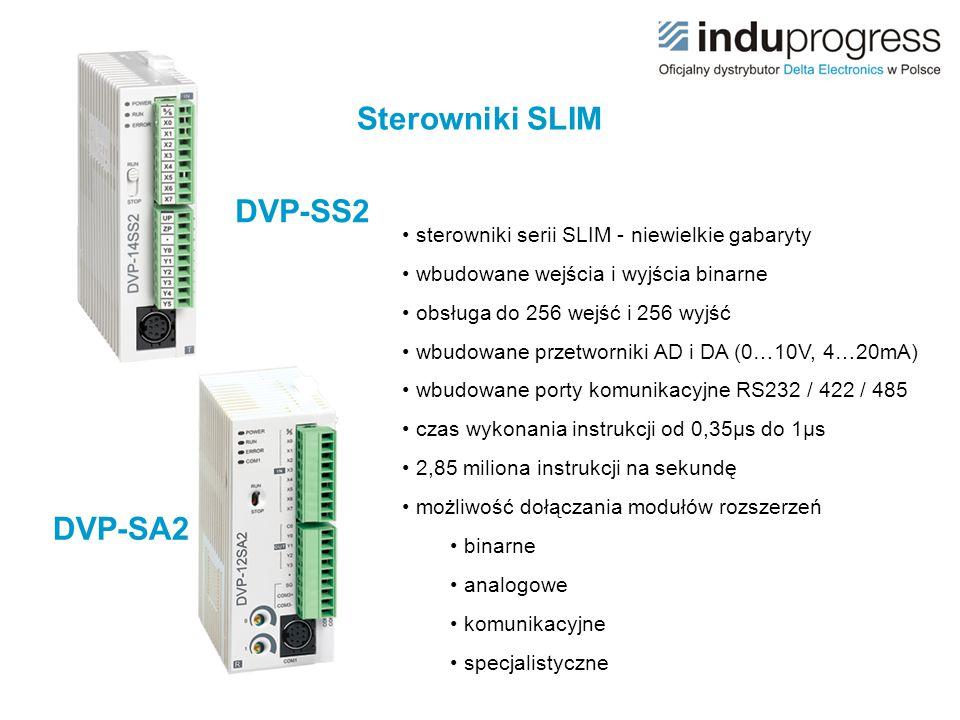Sterowniki SLIM DVP-SS2 DVP-SA2