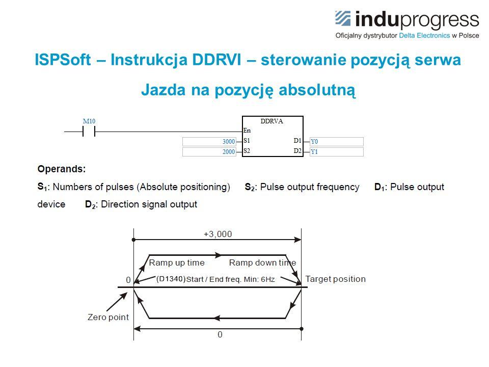 ISPSoft – Instrukcja DDRVI – sterowanie pozycją serwa