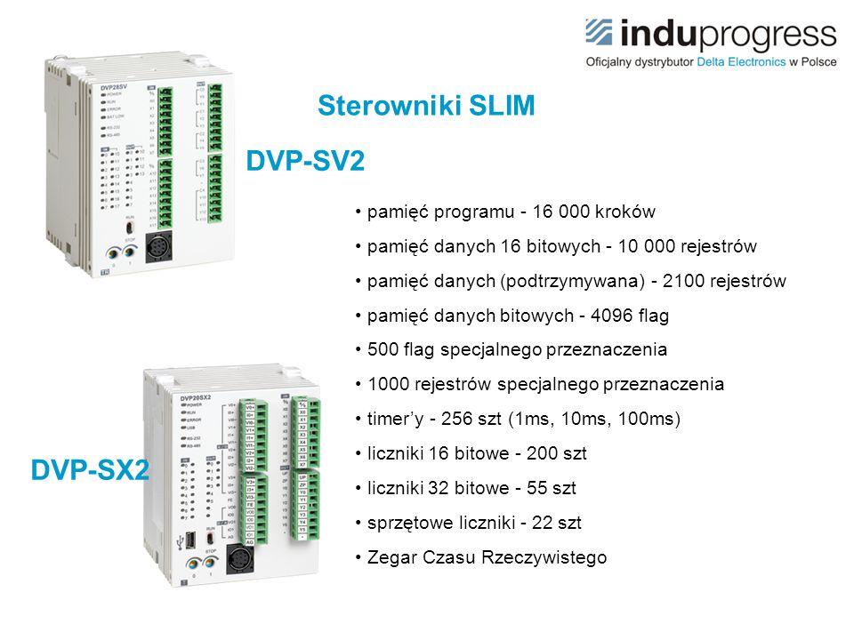 Sterowniki SLIM DVP-SV2 DVP-SX2