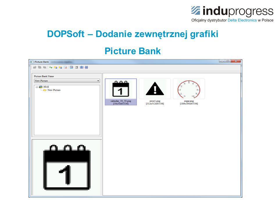 DOPSoft – Dodanie zewnętrznej grafiki