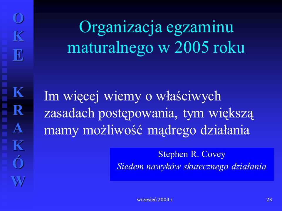 Stephen R. Covey Siedem nawyków skutecznego działania