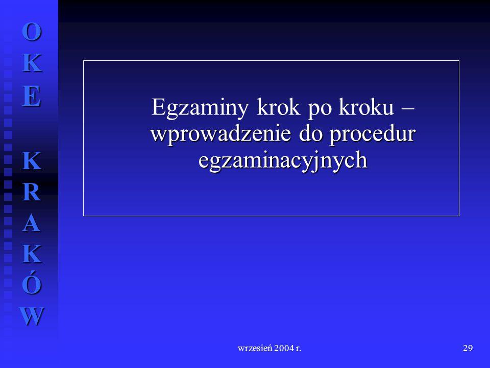 Egzaminy krok po kroku – wprowadzenie do procedur egzaminacyjnych
