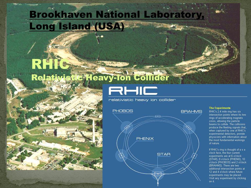 RHIC Brookhaven National Laboratory, Long Island (USA)