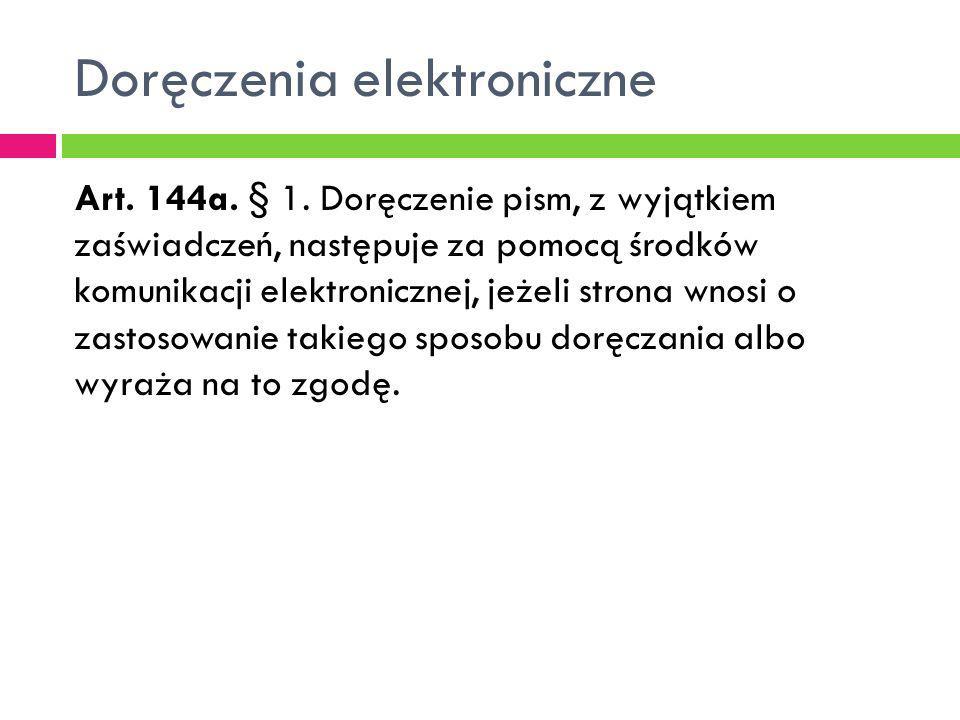 Doręczenia elektroniczne