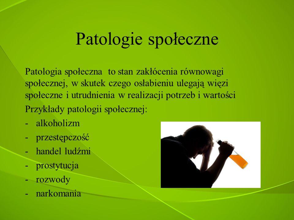 Patologie społeczne