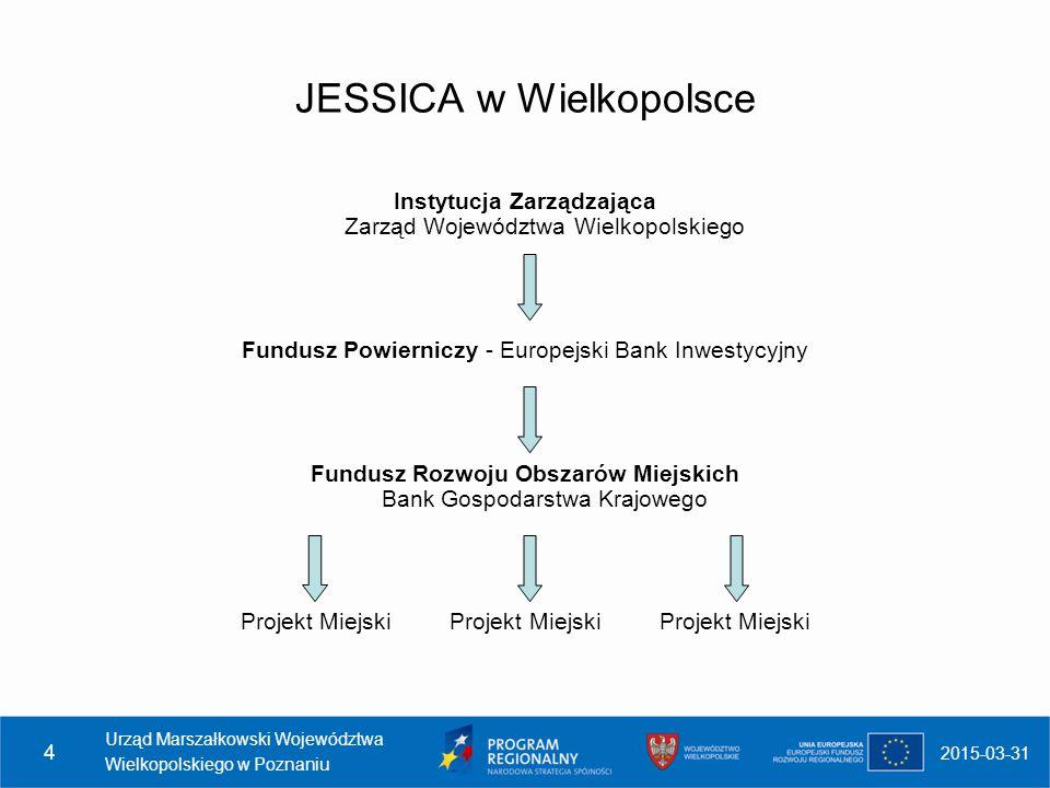 JESSICA w Wielkopolsce