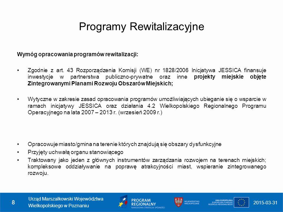 Programy Rewitalizacyjne