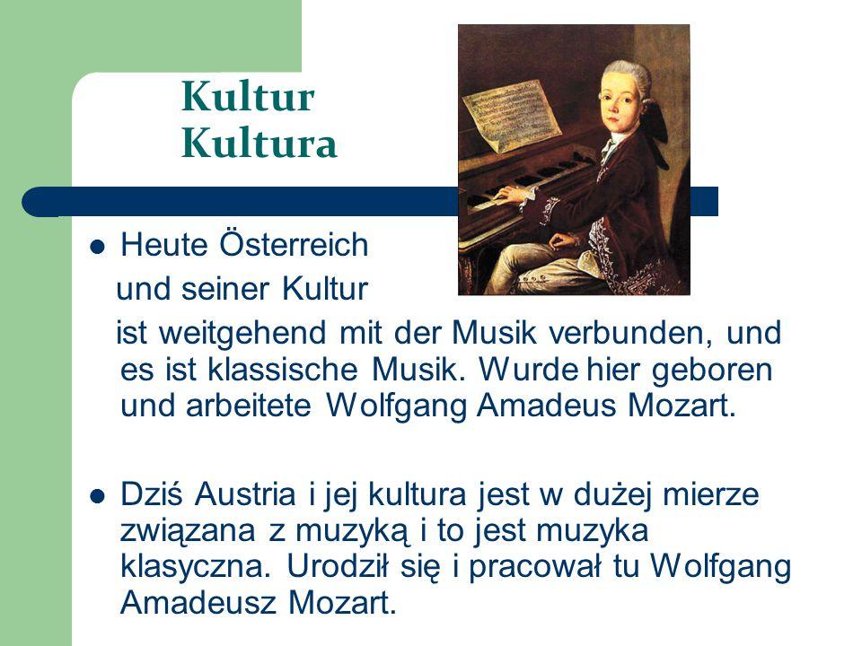 Kultur Kultura Heute Österreich und seiner Kultur