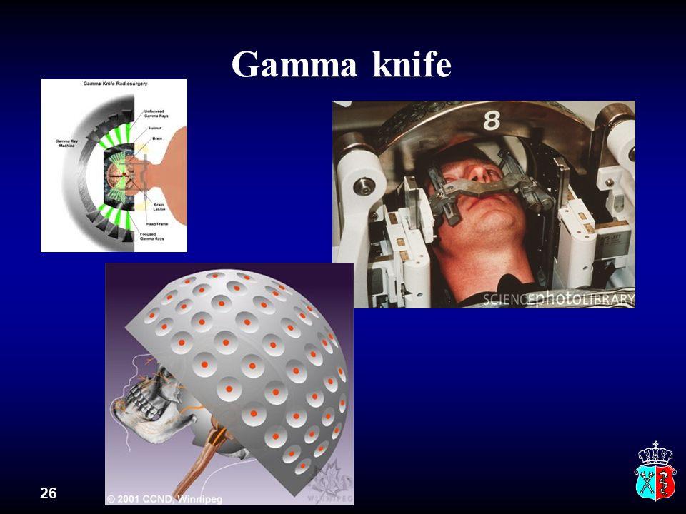 Gamma knife