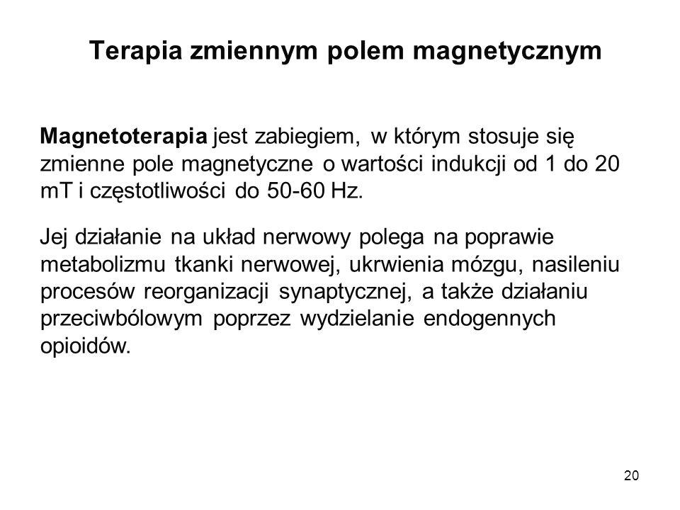 Terapia zmiennym polem magnetycznym