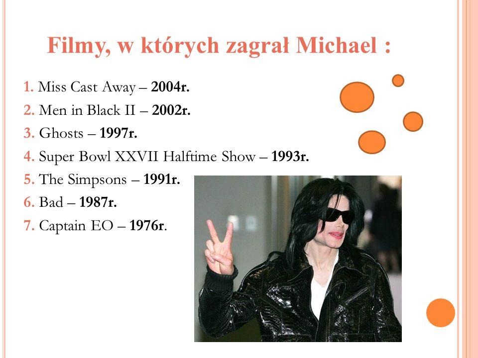 Filmy, w których zagrał Michael :
