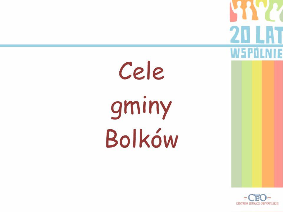 Cele gminy Bolków